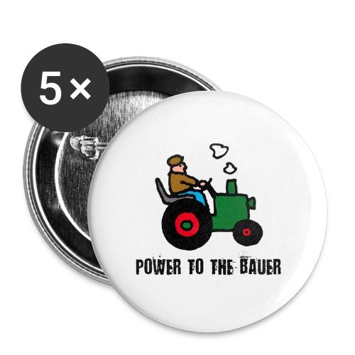 Farmer Anhänger - Buttons klein 25 mm