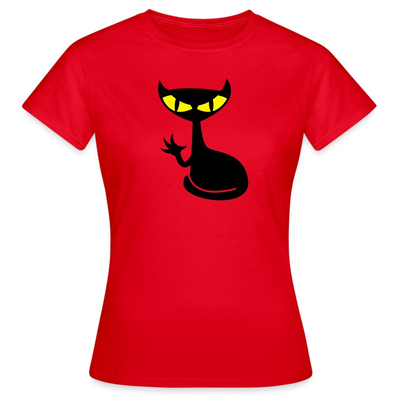 Catfight - red girlieshirt - Frauen T-Shirt