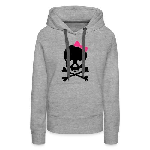 Skull Hoodie - Women's Premium Hoodie