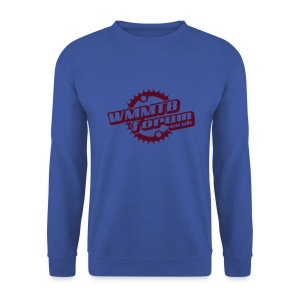 WMMTB Forum 'Logo'  sweatshirt (burgundy red print) - Men's Sweatshirt