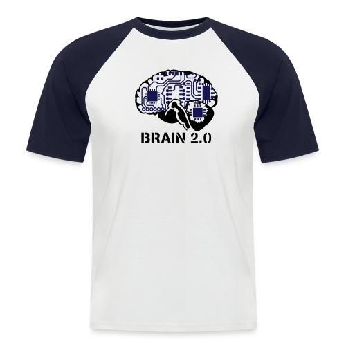 brain 2.0 - T-shirt baseball manches courtes Homme
