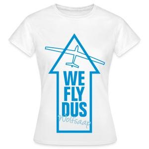We fly DUS Wolfsaap - Frauen T-Shirt
