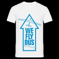 T-Shirts ~ Männer T-Shirt ~ We fly DUS Wolfsaap