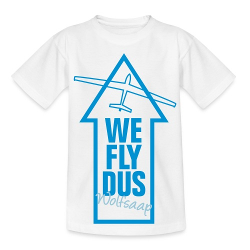 We fly DUS Wolfsaap - Teenager T-Shirt
