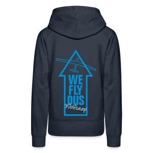 We fly DUS Wolfsaap - Frauen Premium Hoodie