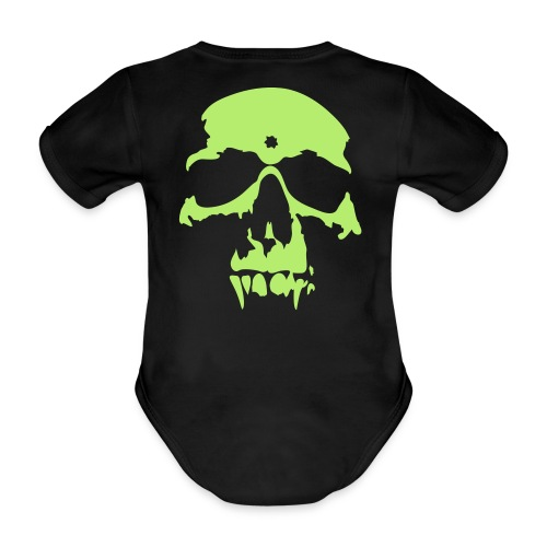 babys first vampire - Organic Short-sleeved Baby Bodysuit
