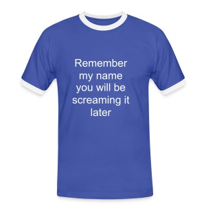 remember - Men's Ringer Shirt
