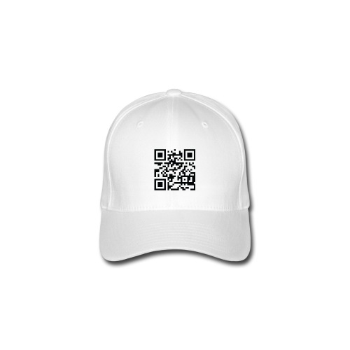 Cap met QR-code. Petje - Flexfit baseballcap