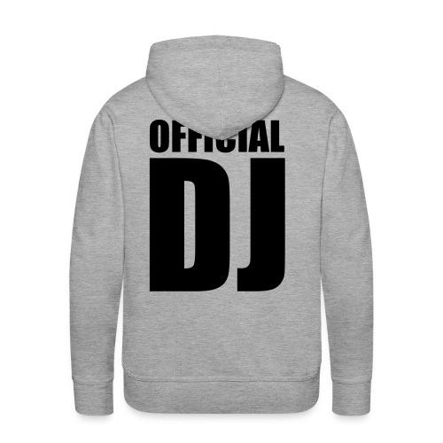 DJ - Men's Premium Hoodie