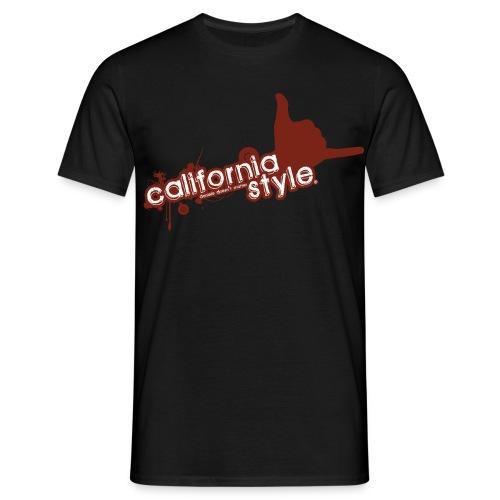 California Style Classic Black - Maglietta da uomo