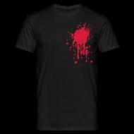T-shirts ~ Mannen T-shirt ~ Bloedvlek