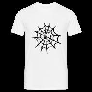 T-shirts ~ Mannen T-shirt ~ Spinneweb