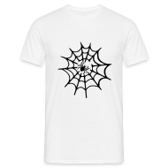T-shirts ~ Mannen T-shirt ~ Spinneweb