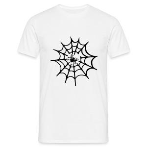 Spinneweb - Mannen T-shirt