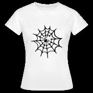 T-shirts ~ Vrouwen T-shirt ~ Spinneweb
