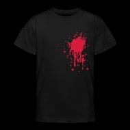 Shirts ~ Teenager T-shirt ~ Bloedvlek