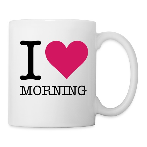 I Love Morning - Mug blanc