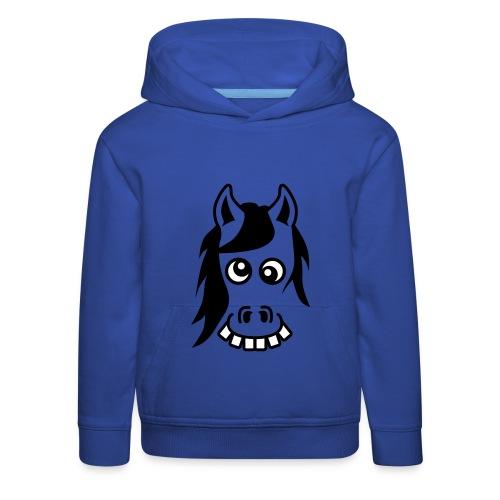 Crazy Pony hoodie - Kids' Premium Hoodie