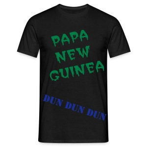 papa new guinea - Men's T-Shirt