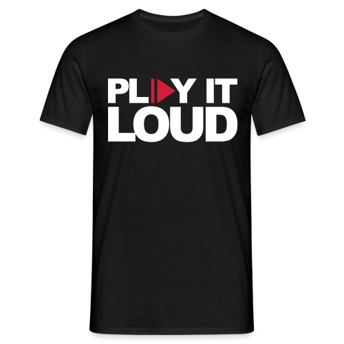 PLAY IT LOUD - T-shirt herr