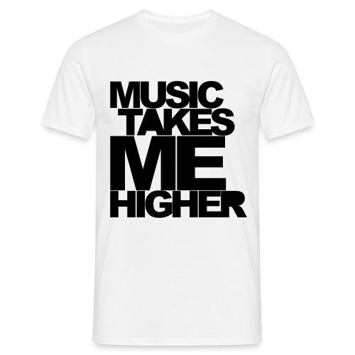 MUSIC TAKES ME HIGHER - T-shirt herr