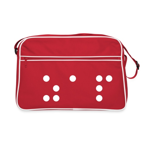 ZAP BRAILLE BAG - Retro Bag