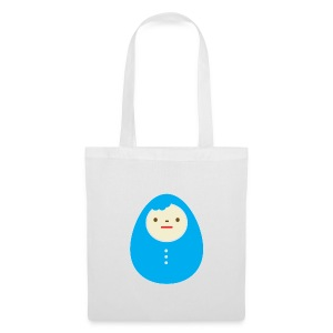 Blue Kokeshi bag - Tote Bag