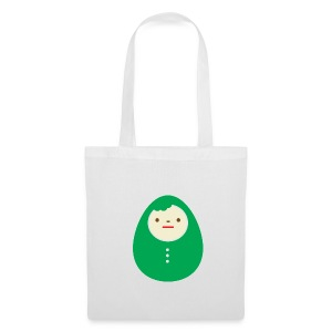 Green Kokeshi bag - Tote Bag