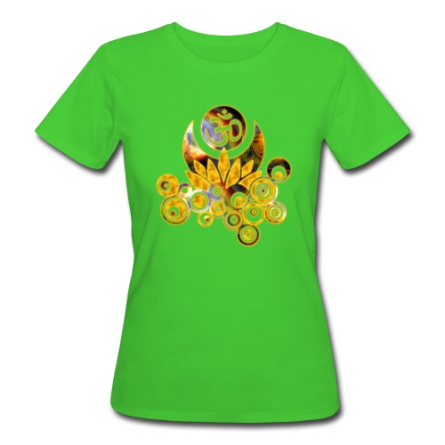 OM-Lotus - Frauen T-Shirt klimaneutral - Frauen Bio-T-Shirt