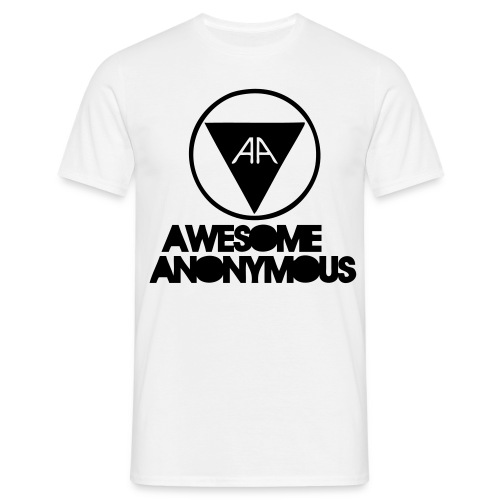 Awesome Anonymous - T-shirt herr