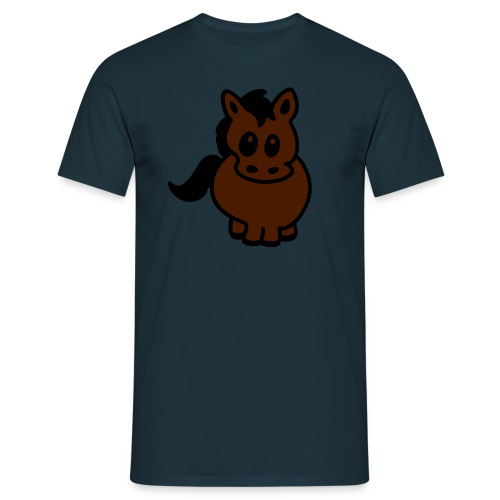 CFGP Pony brown - Männer T-Shirt