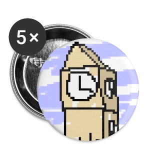 Badges (pack of five) - Buttons small 25 mm