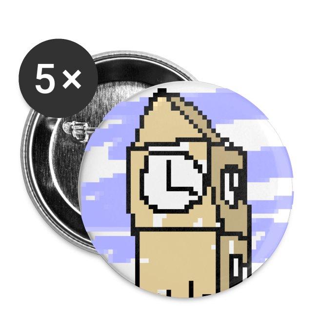 Badges (pack of five)