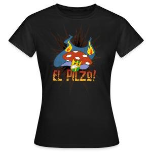 El Pilzo Wrestler - Frauenshirt - Frauen T-Shirt