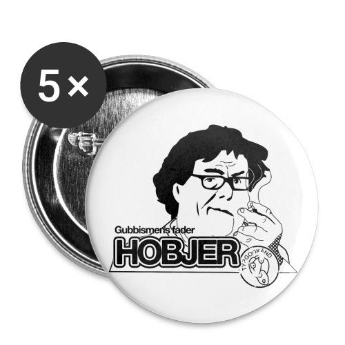 Hobjer Badge Mini - Små knappar 25 mm (5-pack)