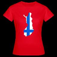 T-shirts ~ Vrouwen T-shirt ~ Finland