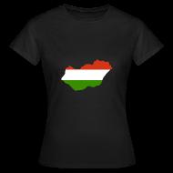 T-shirts ~ Vrouwen T-shirt ~ Hongarije