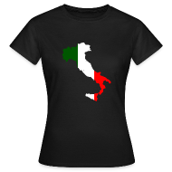 T-shirts ~ Vrouwen T-shirt ~ Italië