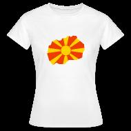 T-shirts ~ Vrouwen T-shirt ~ Macedonië