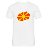 T-shirts ~ Mannen T-shirt ~ Macedonië