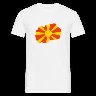 T-shirts ~ Mannen T-shirt ~ Macedonië