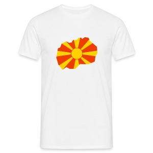 Macedonië - Mannen T-shirt