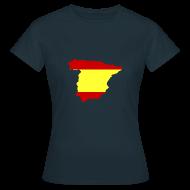 T-shirts ~ Vrouwen T-shirt ~ Spanje