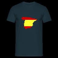 T-shirts ~ Mannen T-shirt ~ Spanje
