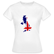 T-shirts ~ Vrouwen T-shirt ~ United Kingdom