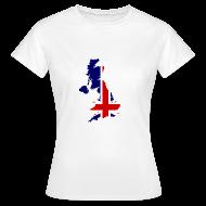 T-shirts ~ Vrouwen T-shirt ~ United Kingdom