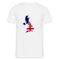 T-shirts ~ Mannen T-shirt ~ United Kingdom