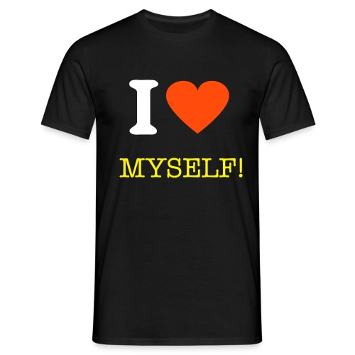 Myself t-shirt - Men's T-Shirt