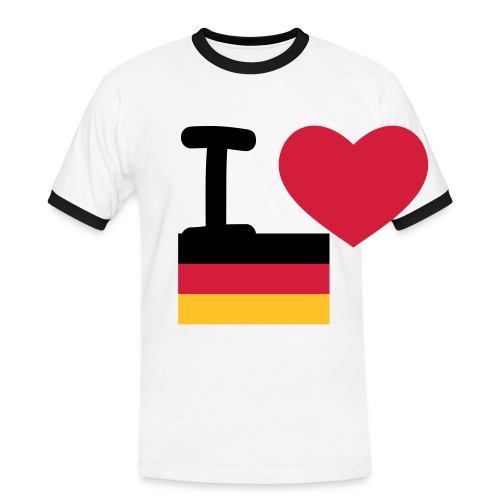 Germany t-shirt - Men's Ringer Shirt
