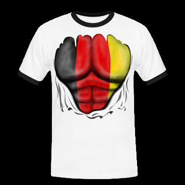 Germania Bandiera Strappato Muscoli